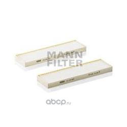Фильтр, воздух во внутренном пространстве (MANN-FILTER) CU290022