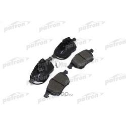 Колодки тормозные дисковые передние (PATRON) PBP590