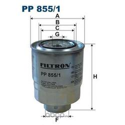 Фильтр топливный Filtron (Filtron) PP8551