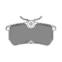 Комплект тормозных колодок, дисковый тормоз (Mapco) 6523