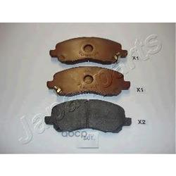 Комплект тормозных колодок, дисковый тормоз (Japanparts) PA501AF