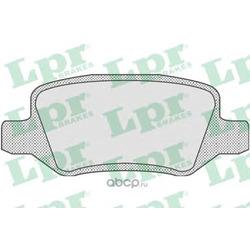Комплект тормозных колодок, дисковый тормоз (Lpr) 05P850