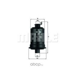 Топливный фильтр (Mahle/Knecht) KL129