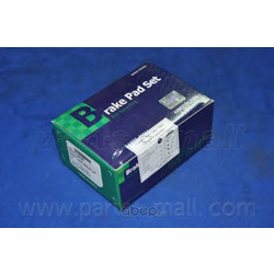 Комплект тормозных колодок (Parts-Mall) PKCE23