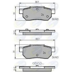 Комплект тормозных колодок, дисковый тормоз (Comline) CBP0460