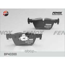Комплект тормозных колодок, дисковый тормоз (FENOX) BP43300