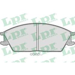 Комплект тормозных колодок, дисковый тормоз (Lpr) 05P364