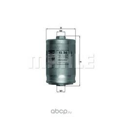 Топливный фильтр (Mahle/Knecht) KL36