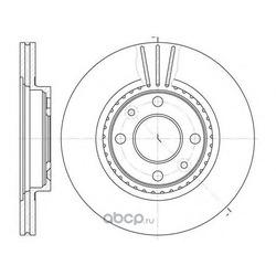 Тормозной диск (Remsa) 614410