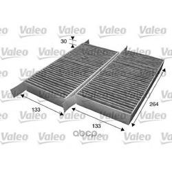 Фильтры салона комплект, угольные (Valeo) 715607