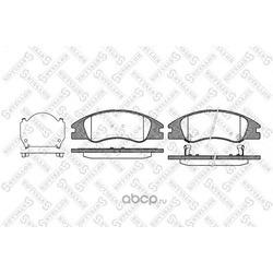 Комплект тормозных колодок (Stellox) 1145002SX