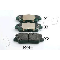 Колодки тормозные задние (Hyundai-KIA) 583022PA70