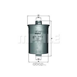 Топливный фильтр (Mahle/Knecht) KL204