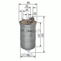 Топливный фильтр (Bosch) 0450906429