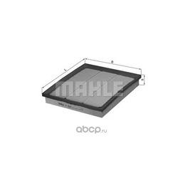 Воздушный фильтр (Mahle/Knecht) LX2683