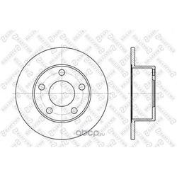 Тормозной диск (Stellox) 60204744SX