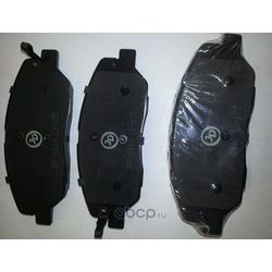 Колодки тормозные, передние D11198M (Just Drive) JBP0160