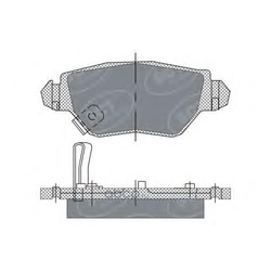 Колодки торм.RR (SCT) SP242