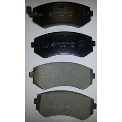 Колодки тормозные дисковые c датчиком изноза, комплект (Kashiyama) D1116M