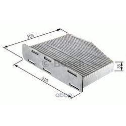 Фильтр, воздух во внутреннем пространстве (Bosch) 1987432381
