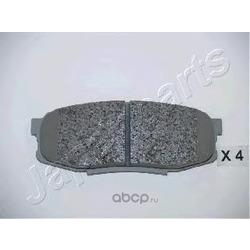 Комплект тормозных колодок, дисковый тормоз (Japanparts) PP221AF