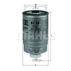 Топливный фильтр (Mahle/Knecht) KC38