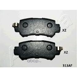 Колодки тормозные дисковые задние, комплект (Ashika) 5103313