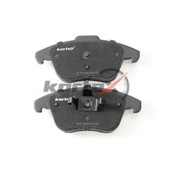 Комплект тормозных колодок, дисковый тормоз (KORTEX) KT1683STD
