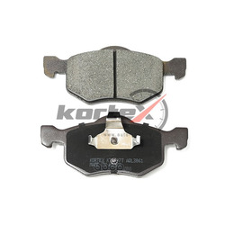Колодки торм. FORD ESCAPE/MAVERICK передн. к-т (KORTEX) KT1497T