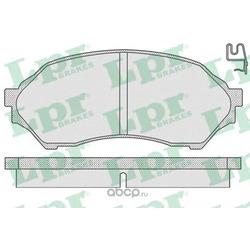 Комплект тормозных колодок, дисковый тормоз (Lpr) 05P813