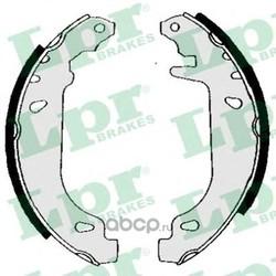 Комплект тормозных колодок (Lpr) 04880