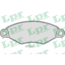 Комплект тормозных колодок, дисковый тормоз (Lpr) 05P708