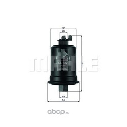 Топливный фильтр (Mahle/Knecht) KL132