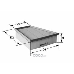 Воздушный фильтр (Clean filters) MA3180