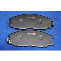 Комплект тормозных колодок (Parts-Mall) PKA016