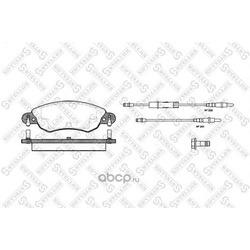 Комплект тормозных колодок (Stellox) 840004SX