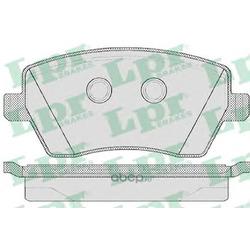 Комплект тормозных колодок, дисковый тормоз (Lpr) 05P867