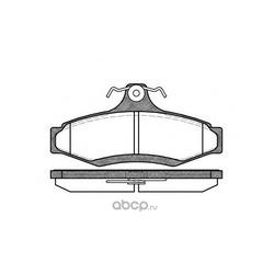 Комплект тормозных колодок, дисковый тормоз (Remsa) 064610