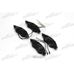 Колодки тормозные дисковые передн CITROEN: C5 01-04, C5 04-, C5 Break 05- (PATRON) PBP1410