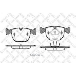 Комплект тормозных колодок (Stellox) 607000BSX
