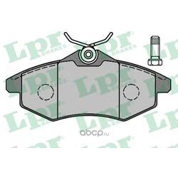 Комплект тормозных колодок, дисковый тормоз (Lpr) 05P805