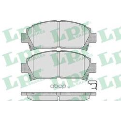 Комплект тормозных колодок, дисковый тормоз (Lpr) 05P573