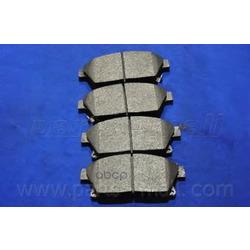 Комплект тормозных колодок (Parts-Mall) PKC028