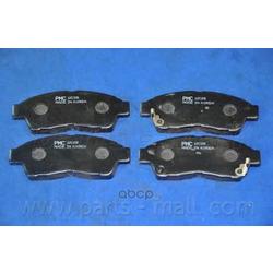 Комплект тормозных колодок (Parts-Mall) PKF004