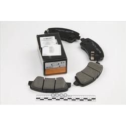 Колодки тормозные дисковые передние к-т (HSB) HP0047