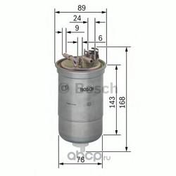 Топливный фильтр (Bosch) 0450906274