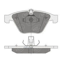 Колодки торм.FR (SCT) SP355