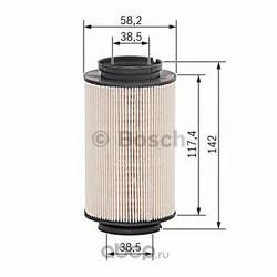 Топливный фильтр (Bosch) 1457070007