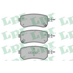 Комплект тормозных колодок, дисковый тормоз (Lpr) 05P1411