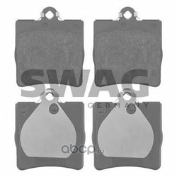 Комплект тормозных колодок, дисковый тормоз (Swag) 10916147